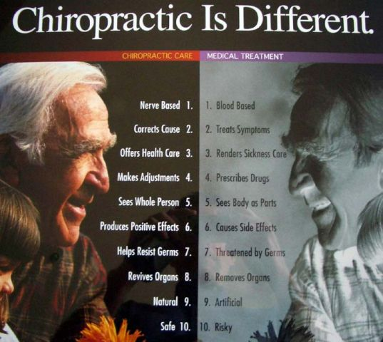 Chiropractic 20is 20different